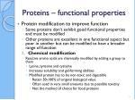 proteins functional properties38