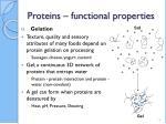 proteins functional properties6