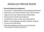 adolescent mental health14