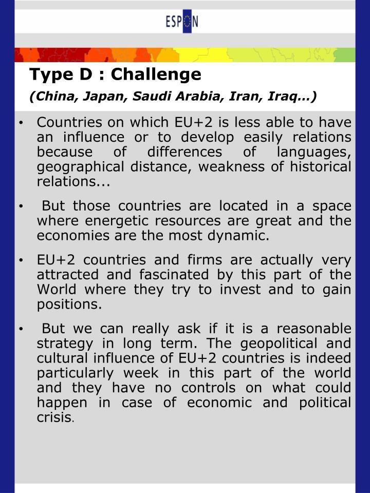 Type D : Challenge