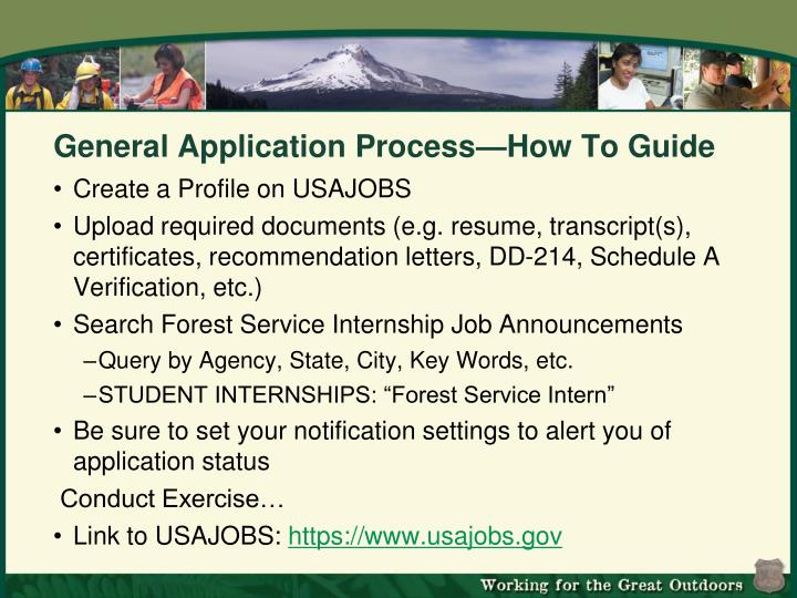 General Application Process—How To Guide