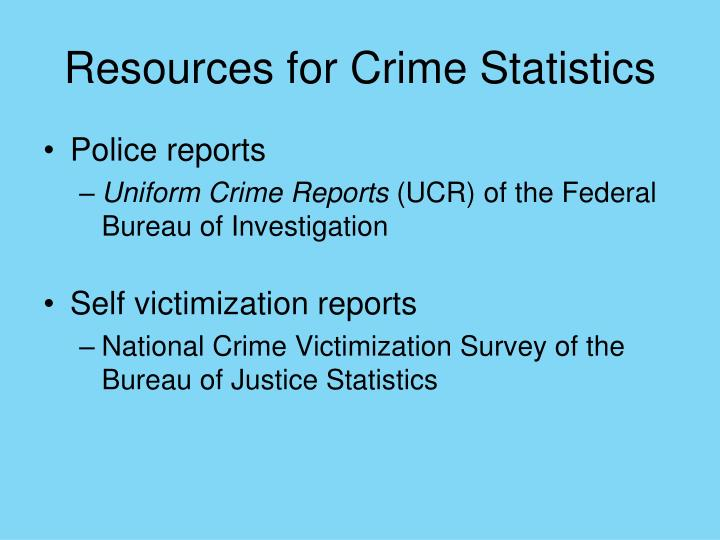 crime reports and victimization Publications stay informed register with ncjrs to receive ncjrs's biweekly e-newsletter justinfo and additional periodic emails from ncjrs and the ncjrs federal.