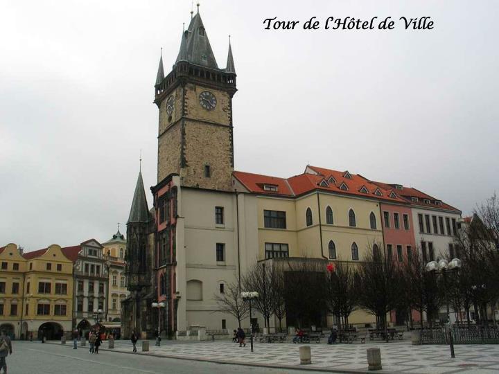 Tour de l'Hôtel de Ville
