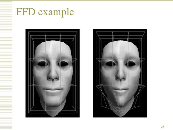 FFD example