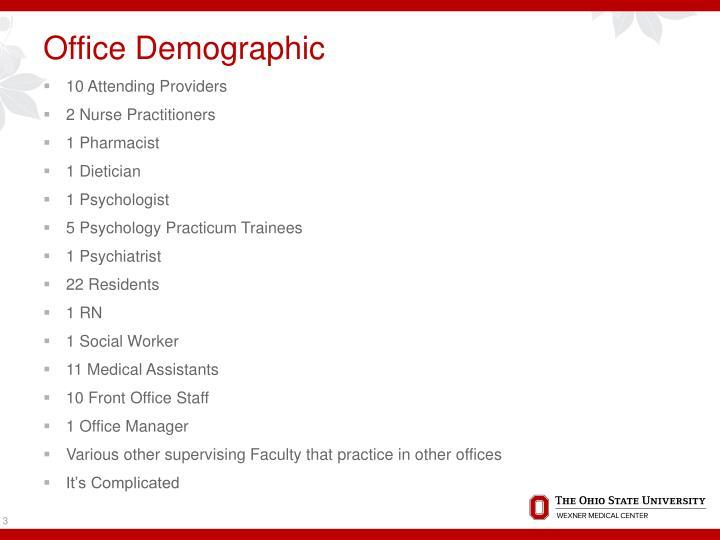 Office demographic