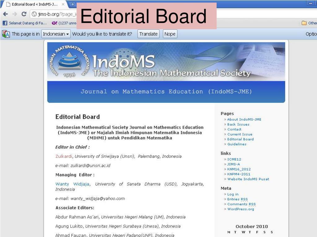 PPT - Penulisan Artikel Bidang Pendidikan Matematika pada ...