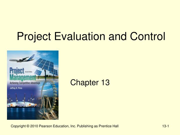 project evaluation and control essay A project management plan is the collection of all management plans across all of the knowledge areas in project management: project integration management.