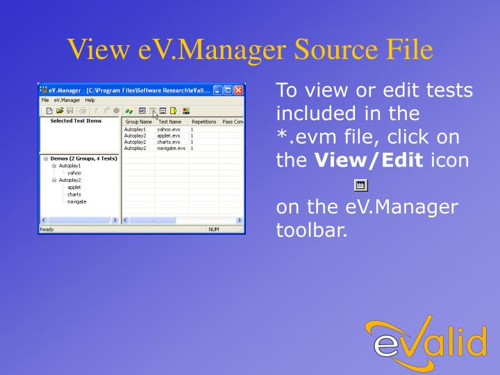View eV.Manager Source File