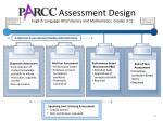 assessment design english language arts literacy and mathematics grades 3 11