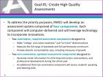 goal 1 create high quality assessments1
