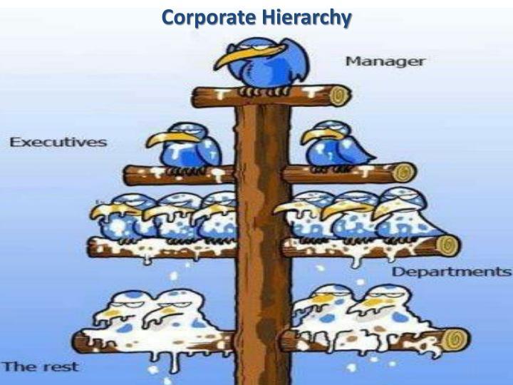 Corporate Hierarchy