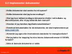 2 3 implementer dokumenter