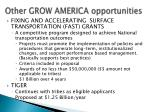 other grow america opportunities