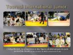 tournoi international junior1