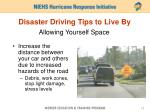 disaster driving tips to live by1