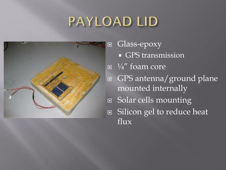 PAYLOAD LID