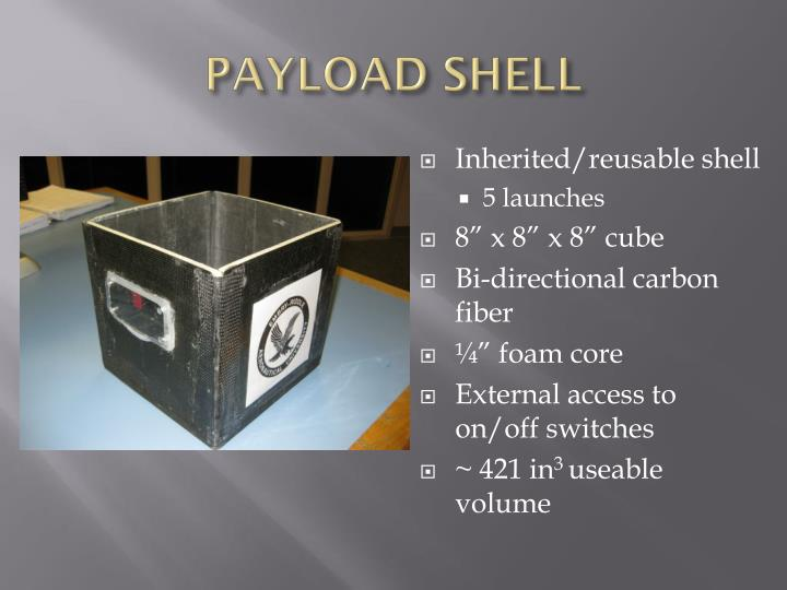 PAYLOAD SHELL
