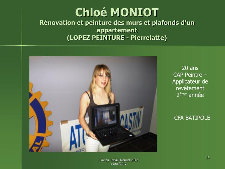 Chloé MONIOT