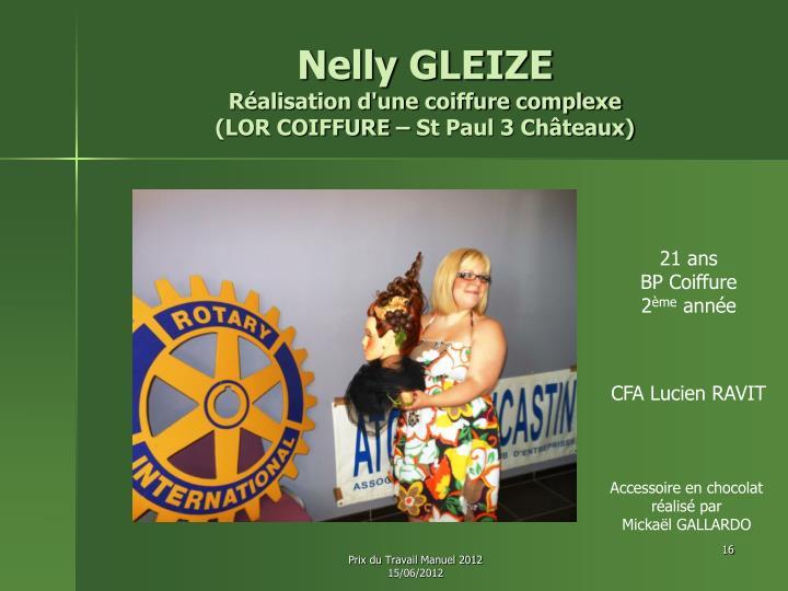 Nelly GLEIZE