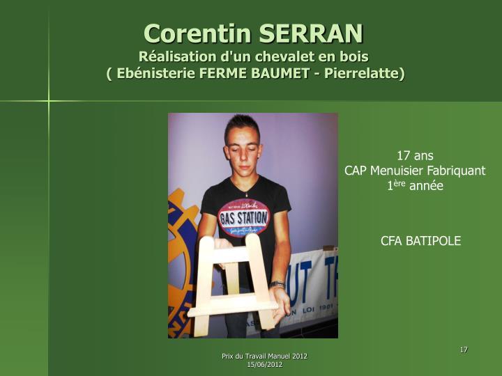 Corentin SERRAN