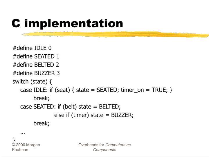 C implementation