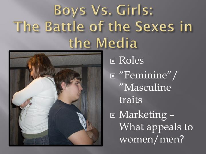 Boys Vs. Girls: