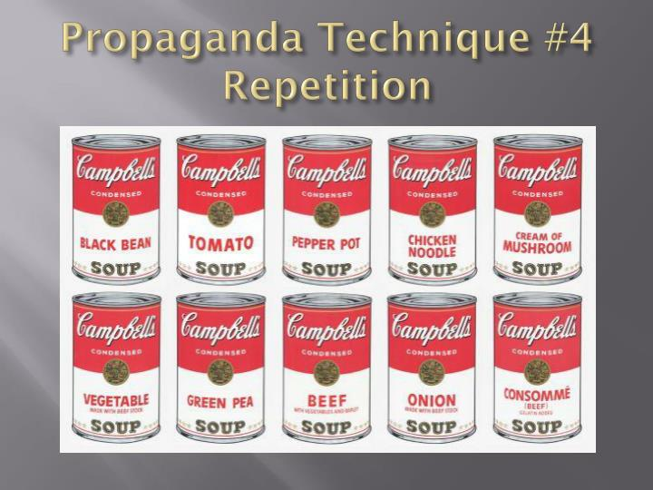 Propaganda Technique #4
