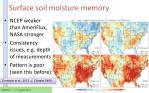 surface soil moisture memory2