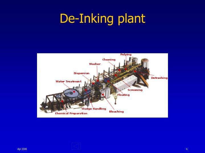 De-Inking plant