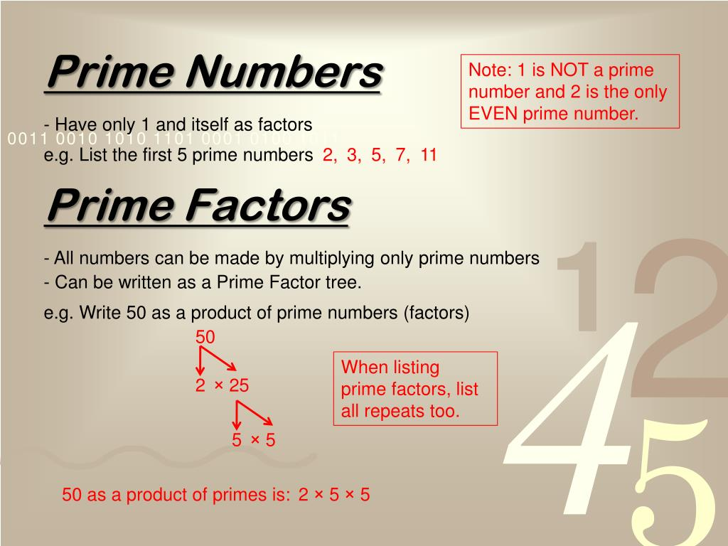 Ppt Number Powerpoint Presentation Free Download Id 7005305 Factors of 50 definition the factors of 50 are all the integers (positive and negative whole numbers) that you can evenly divide into 50. ppt number powerpoint presentation