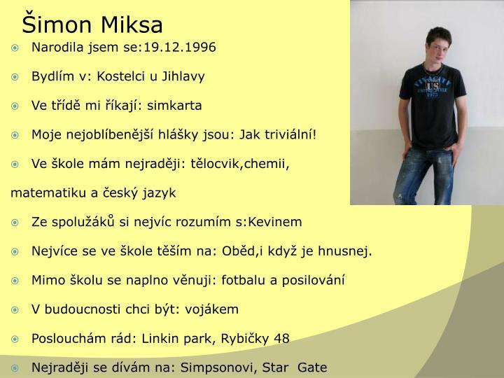 Šimon Miksa