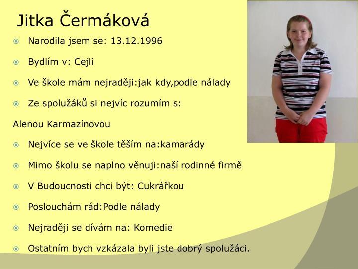 Jitka Čermáková