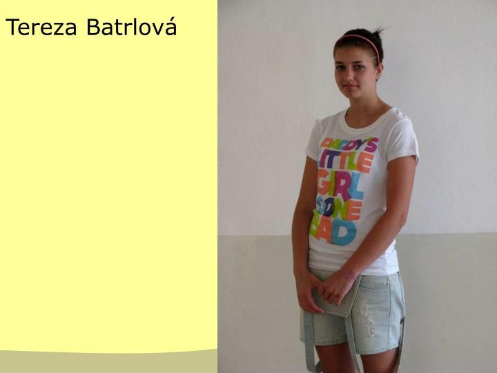 Tereza Batrlová