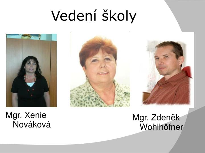 Mgr. Xenie Nováková