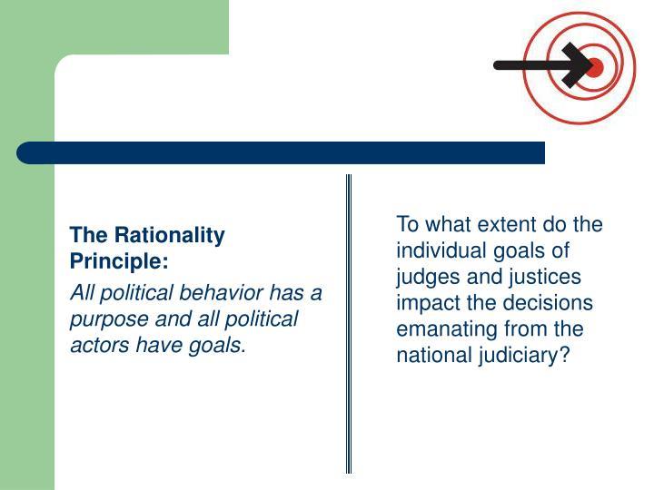 The Rationality Principle: