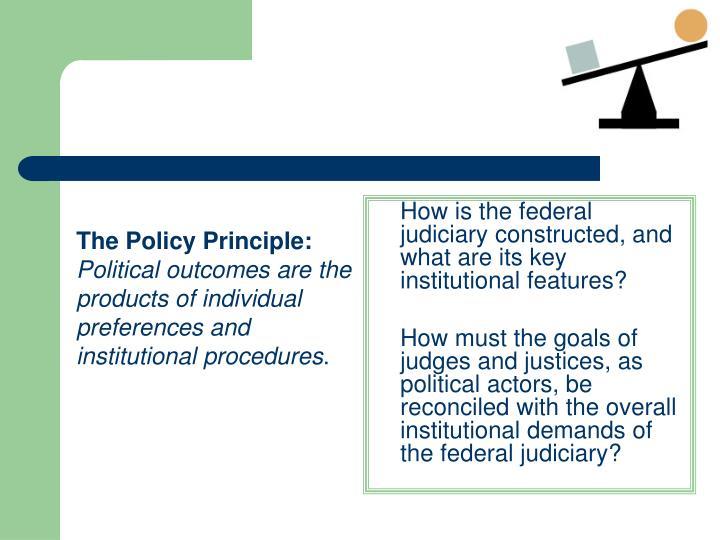The Policy Principle: