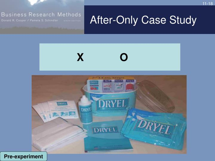 After-Only Case Study
