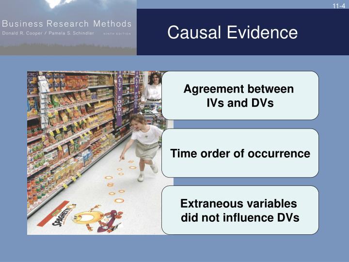 Causal Evidence