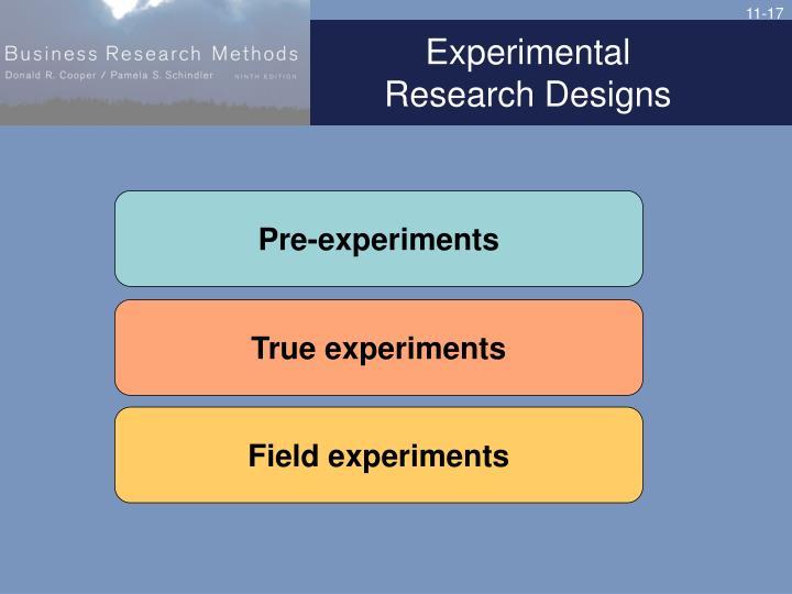 Experimental
