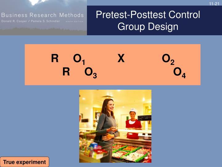 Pretest-Posttest Control Group Design