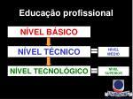 educa o profissional