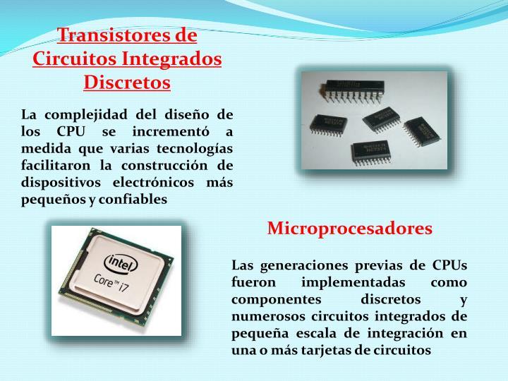 Transistores de Circuitos Integrados Discretos