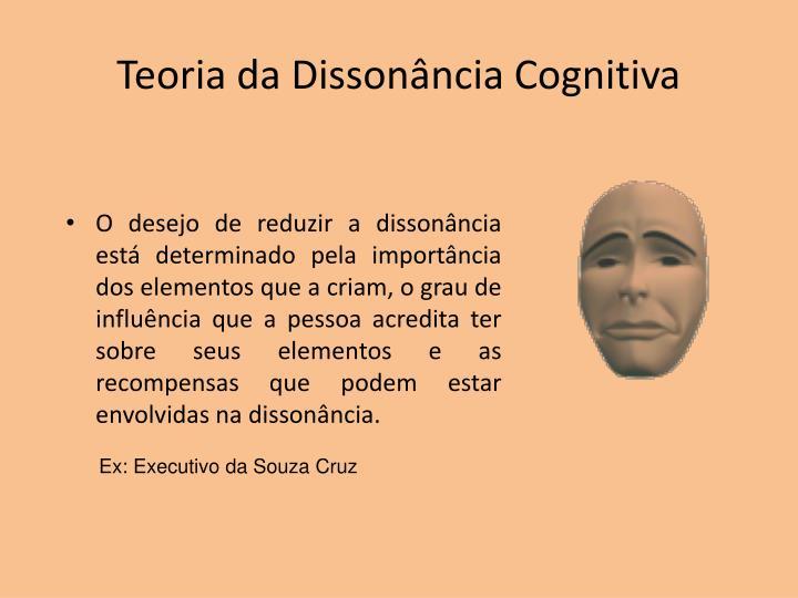 Teoria da Dissonância Cognitiva