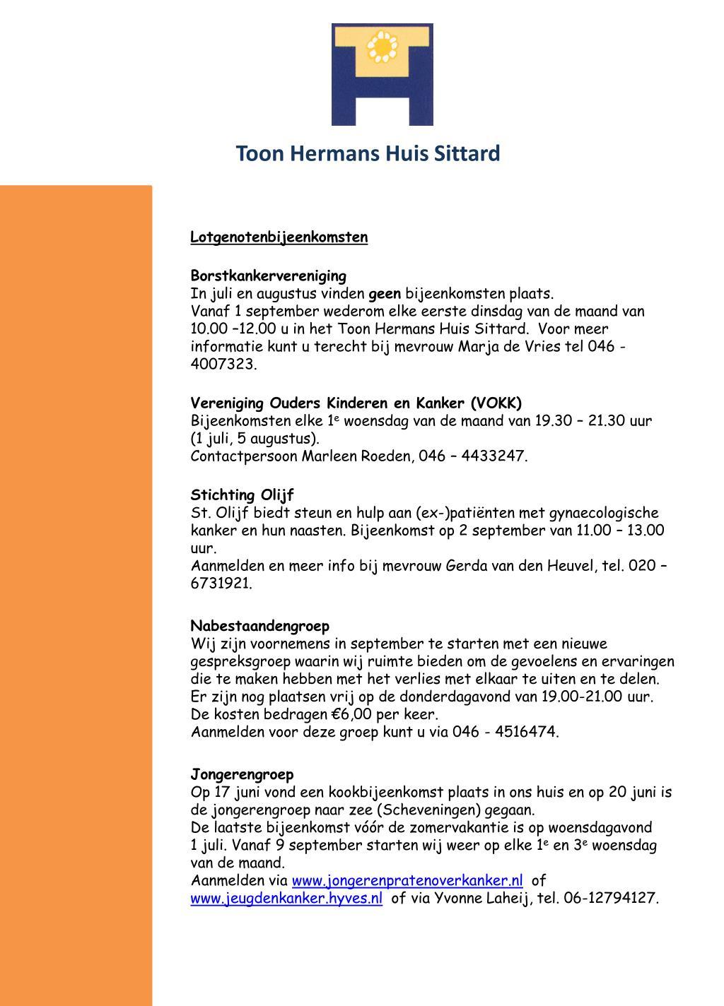 Ppt Toon Hermans Huis Sittard Powerpoint Presentation