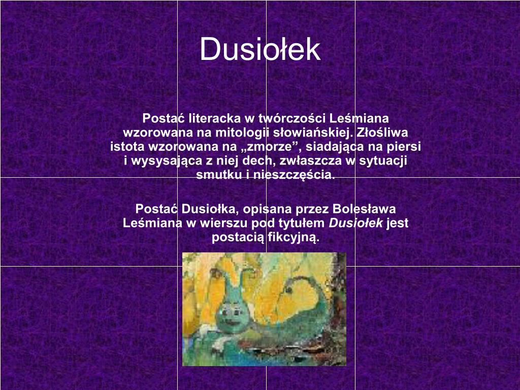 Ppt Bolesław Leśmian Powerpoint Presentation Free