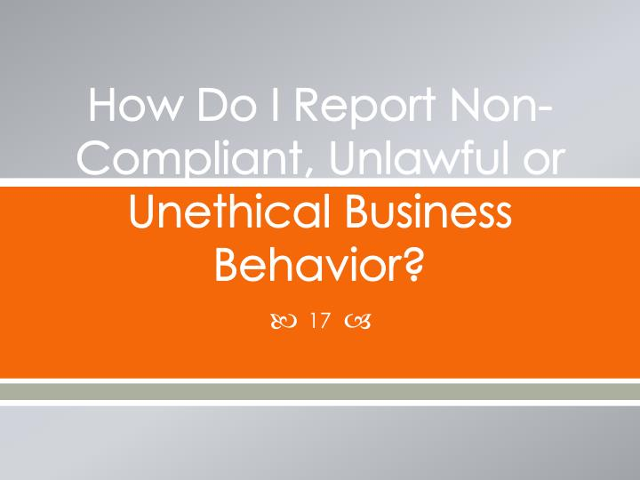 difference between unethical and unlawful behaviour What is the difference between unethical and unlawful behavior what does an ethics officer do.