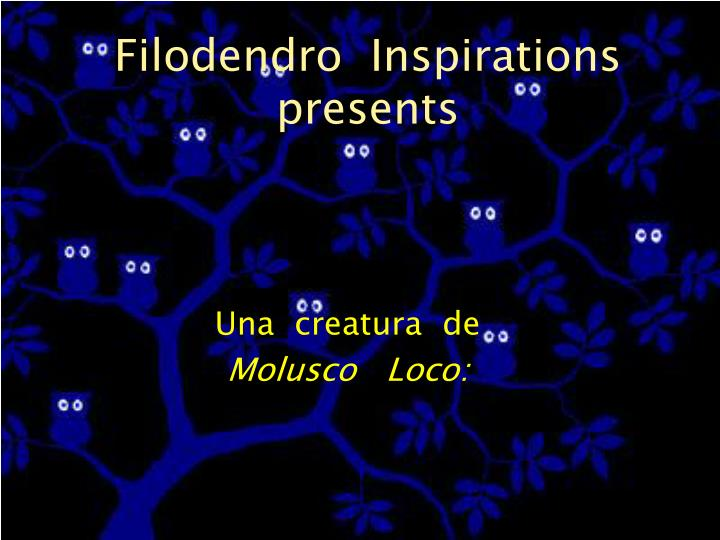 filodendro inspirations presents n.