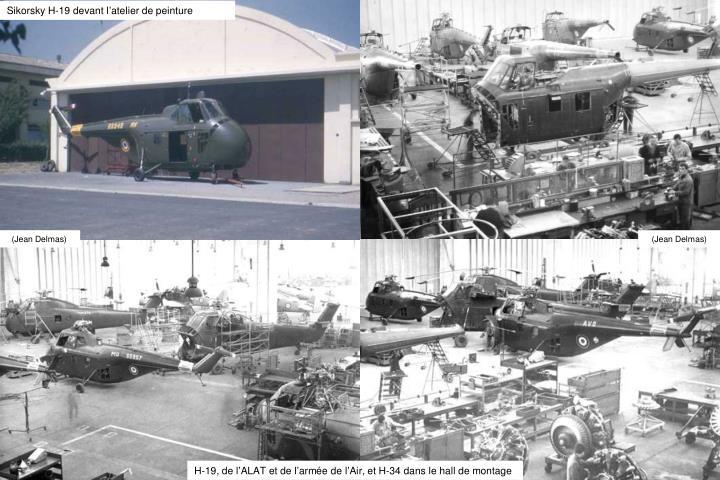 Sikorsky H-19 devant l
