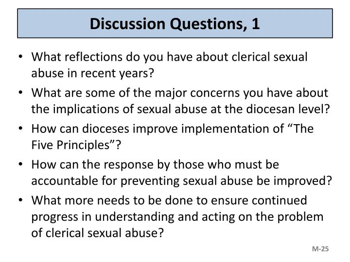 Discussion Questions, 1
