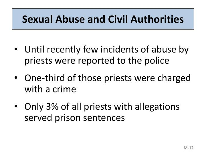 Sexual Abuse and Civil Authorities